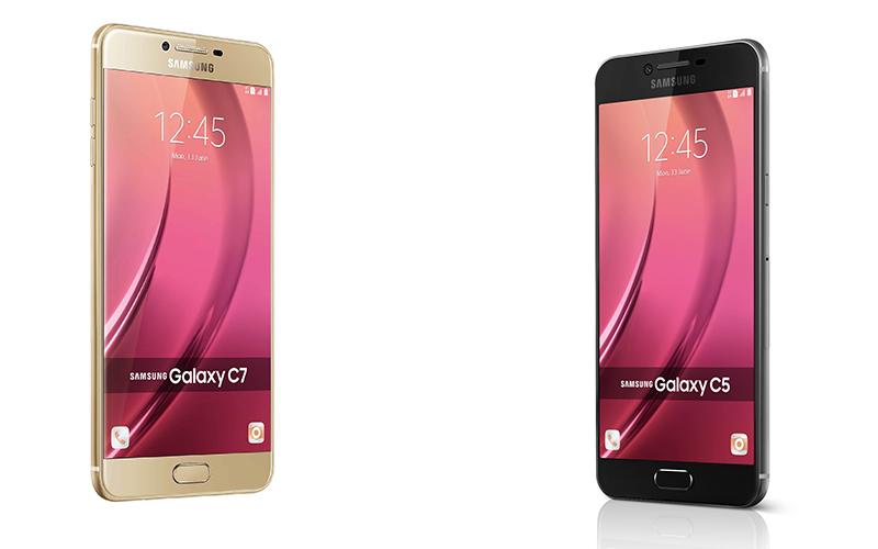Samsung Galaxy C5 & C7