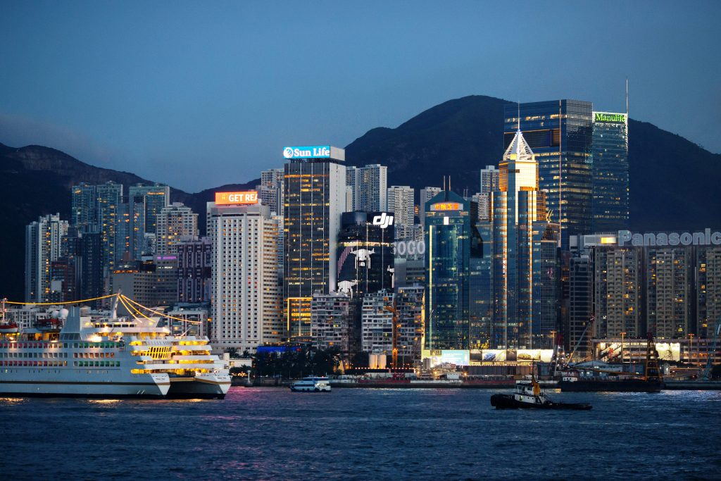 DJI HK Skyline
