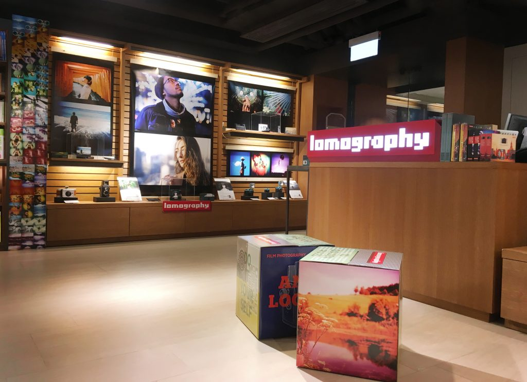 Lomography Pop Up Store