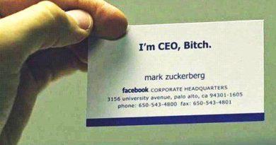 Mark Zuckerberg 就是狂! 我們來看看科創巨頭 CEO 的名片