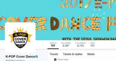 2017年K-Pop舞蹈模仿大賽宣布首個「Twitter最受歡迎大獎」