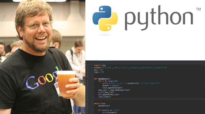 因為打發時間,他改變了世界!講述 Python 之父 Guido van Rossum 的故事!