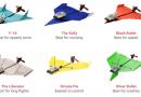 把紙飛機昇華成花式無人機:Powerup Dart!