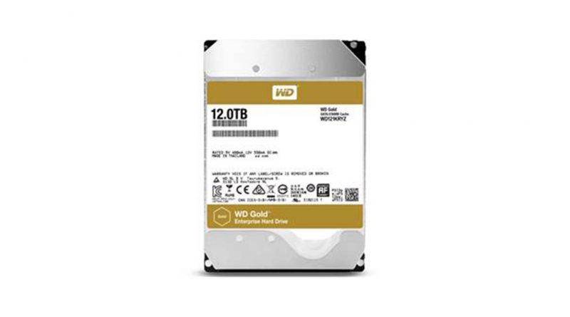 12TB WD Gold