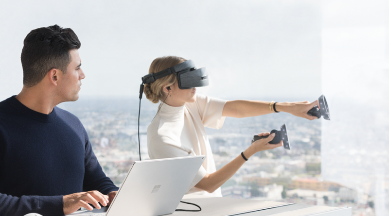 Microsoft 推出 Windows 10 Creators 秋季更新與全新MR頭戴式裝置