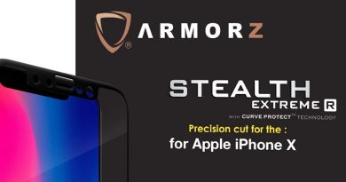 Stealth Extreme R Tempered Glass for iPhone X