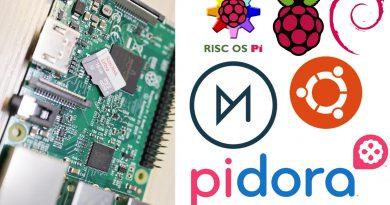 Micro-SD 上安裝 Raspbian