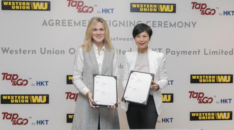 西聯匯款與Tap & Go「拍住賞」聯手提供網上全球匯款服務