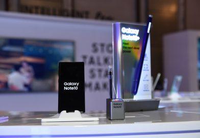 Samsung Galaxy Note10 旗艦手機系列登場, S Pen強力升級,攝錄實力再增