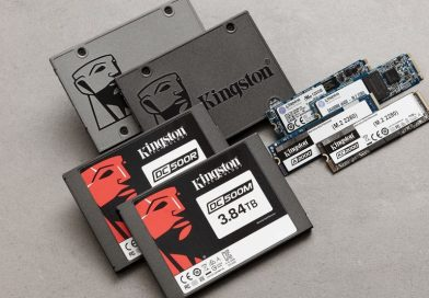 Kingston 2019 1H固態硬碟出貨量達1330萬片,位列全球第三