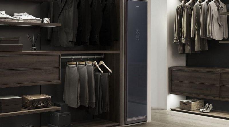 Samsung AirDresser 智能魔衣櫥為家居專業衣物護理引