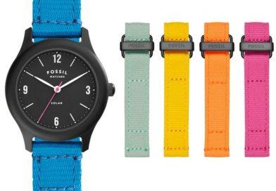 Fossil 推出限量版太陽能腕錶