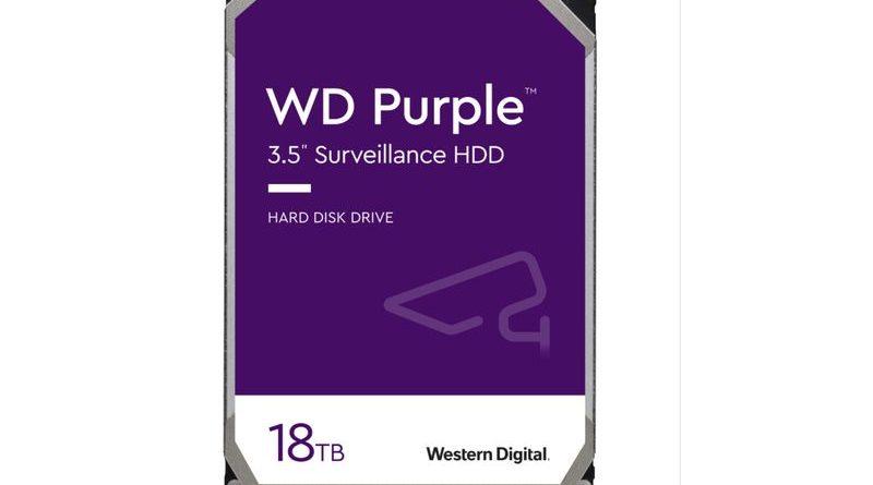 Western Digital 推出 WD Purple 系列新產品