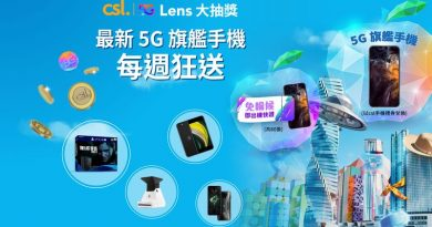 csl. 5G Lens 大抽獎