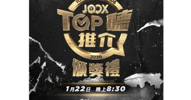 2020年度 JOOX TOP聽推介頒獎禮結果出爐