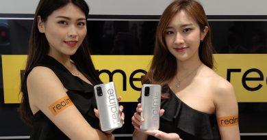 5000mAh大電,5G+5G:realme7 5G 正式登陸香港
