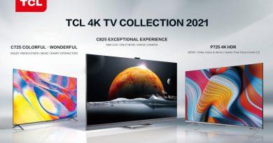 TCL 2021旗艦級電視 C825,Mini LED加持